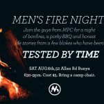 mens fire night