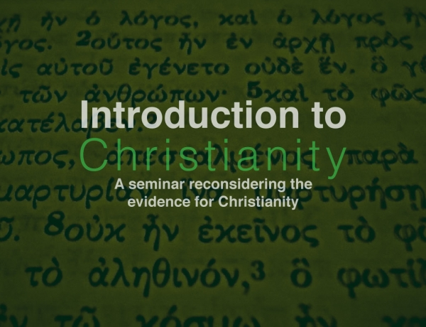 Intro to Christianity Nov 22