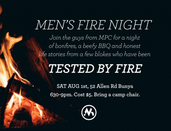 Men's Fire Night
